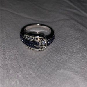Swarovski Elements Buckle Ring